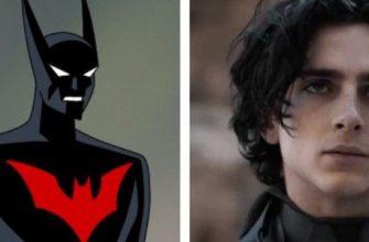 Как Тимоти Шаламе выглядит в роли Терри МакГинниса в «Бэтмене будущего»