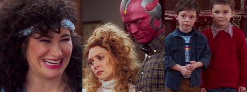 Реклама 5 эпизода «ВандаВижен» напоминает о неудаче Мстителей