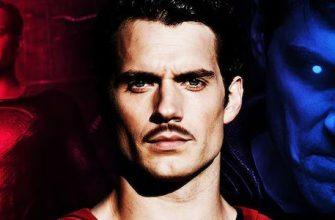 Утечка. Усатый Супермен с пересъемок «Лиги справедливости»
