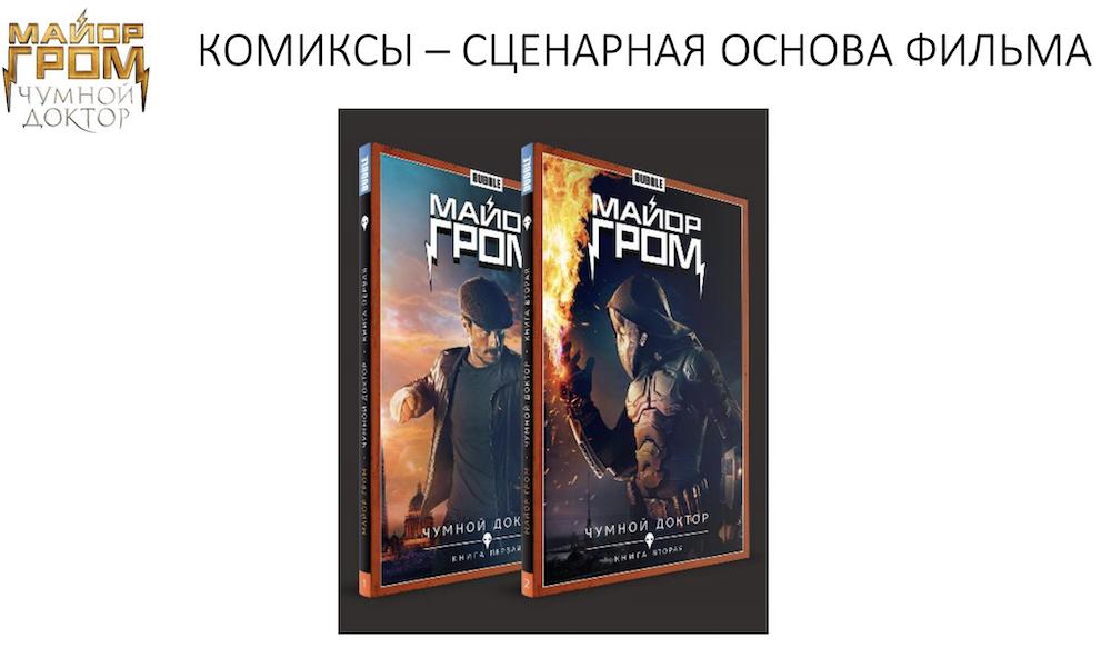 Розыгрыш сувениров и промокодов «Теремок» к премьере «Майора Грома: Чумной доктор»