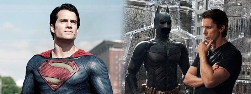 Бэтмен из «Темного рыцаря» мог появиться в «Человеке из стали»