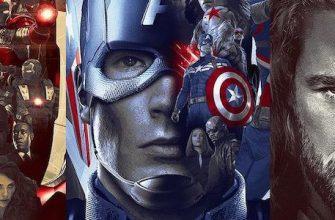 Железный человек, Капитан Америка и Тор получили крутые постеры по MCU