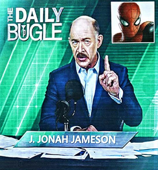 Джей Джона Джеймсон на новом изображении «Человека-паука: Вдали от дома»