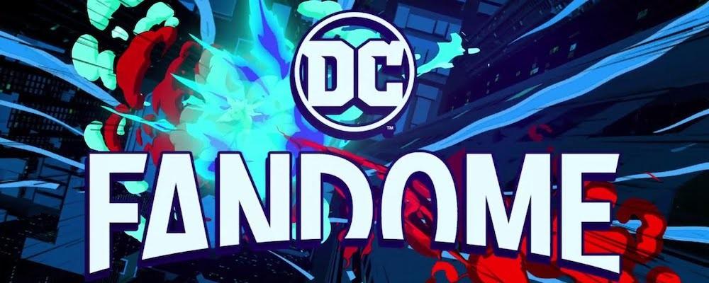 Русский постер презентации DC FanDome 2021 тизерит анонсы