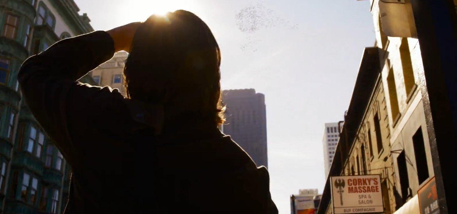 Первые кадры фильма «Матрица 4: Воскрешение» показали Киану Ривза в роли Нео