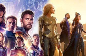 Объяснено, почему Мстители не появятся в фильме «Вечные»