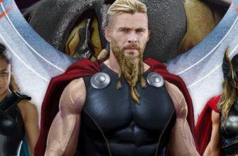Герои будут выглядеть иначе в «Торе 4: Любовь и гром»