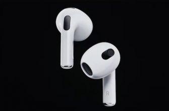 Анонсированы новые наушники Apple AirPods 3: цена, дата выхода и отличия